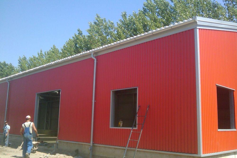 Vand Hala Metalica 10×20×3.3 ideala pentru service auto, Garaj, Etc Targu-Mures - imagine 1