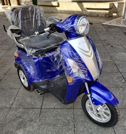 Tricicleta Electrica ZTECH ZT-15 Albastru NOU 2020, 900W, 48V, 20Ah !