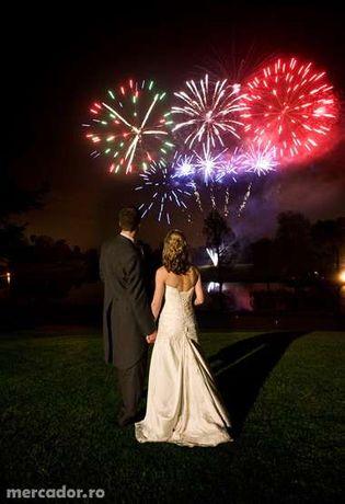 Jocuri de artificii profesionale, nunti, botezuri, revelion. . .