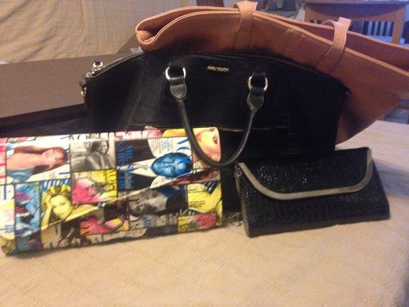 Чанта Mango,Bershkа + още 2 чанти