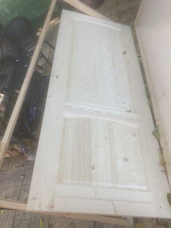 3 броя дървени врати с каси чисто нови