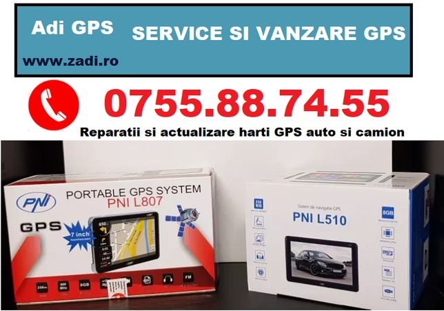 "GPS Navigatii Serioux 4.3"" / 5"" / 7"" - program camion - garantie 3 ani"