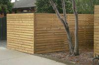 Gard lemn tratat pin nordic - element impregnat