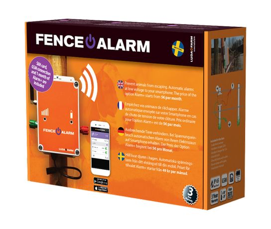 Gard electric alarma - sistem monitorizare