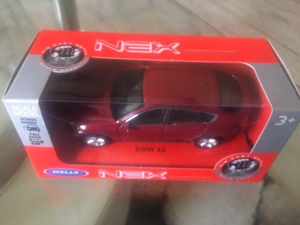 BMW X6 умален модел 1:34