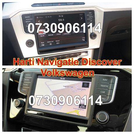 VW SD Card Harta Navi DISCOVER Pro hdd GOLF PASSAT Europa ROMANIA 2020