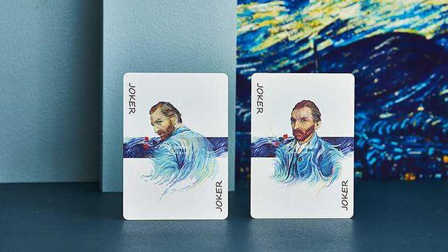 Carti de joc Van Gogh (Self-Portrait) by Gambler's Warehouse
