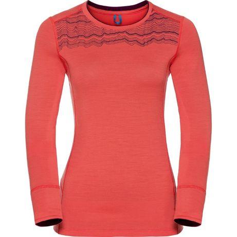НОВА! Odlo дамски тениски 100% вълна (L и XL)