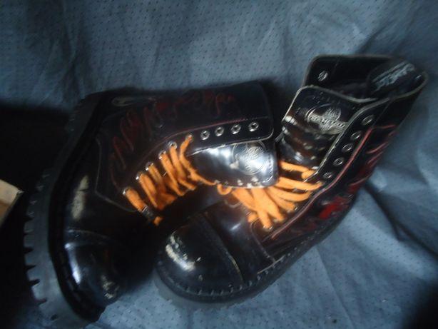Ботинки цигейка натуральная 38размер Как Dr. Martens Фирменные