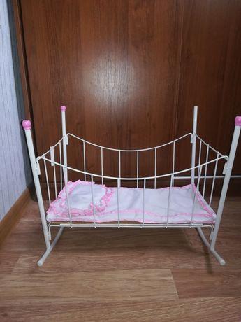 Кроватка для кукол б/у