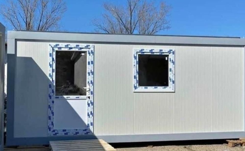 container tip birou. 6m lungime  2.40 lățime 2.40 înălțime. Sicrita - imagine 1