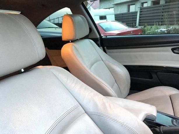 Interior recaro piele alb cu INCALZIRE Bmw E92 coupe Bmw 320d 330d 335