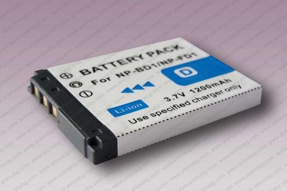 ANIMABG Батерия модел NP-BD1 / NP-FD1