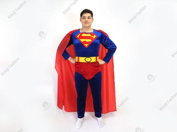 Costum Superman- Liga Dreptatii Adult/Costume Carnaval/Personaje