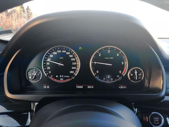 Табло Километраж BMW X5 F15 F10 F11 БМВ Х5