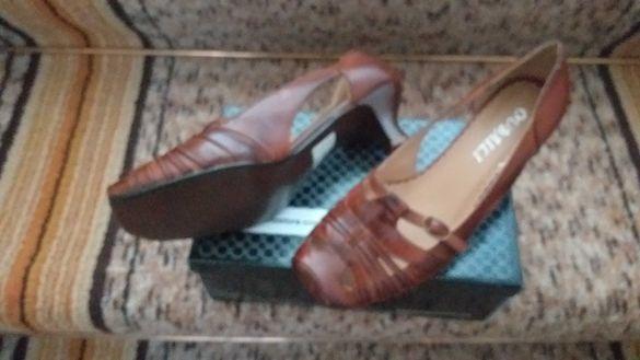 Дамски елегантни нови обувки размер 37-30лв