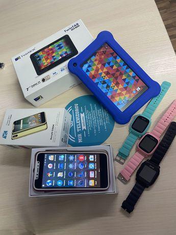 АКЦИЯ!! Новые телефоны в подарок новый планшет и смарт часы