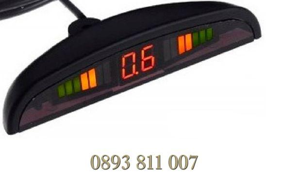 Система Парктроник с 8 сензора, светлинен дисплей и звукова сигнализац