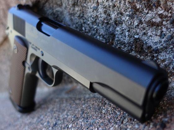 CEL MAI PUTERNIC!!Pistol Cu Aer Comprimat AIRSOFT Co2 Full Metal Recul