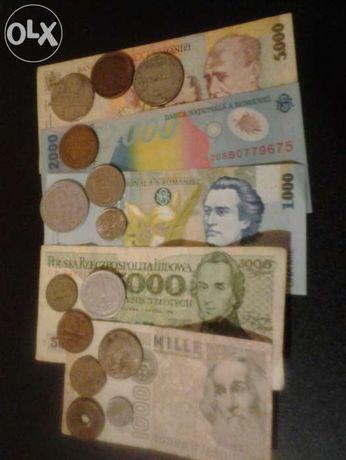 vand bancnota eclipsa si monede vechi