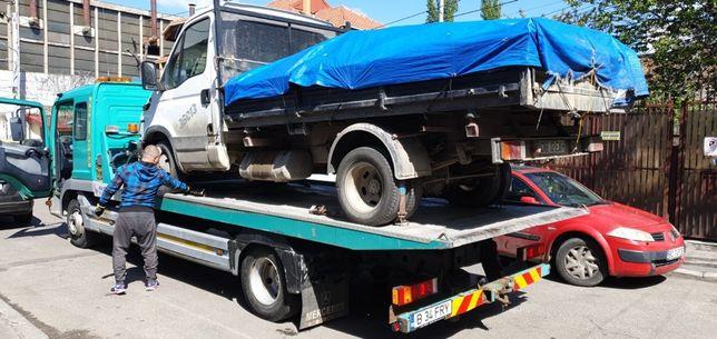 Tractari auto moto dube stivuitor nacela tractor utilaje platforma aut