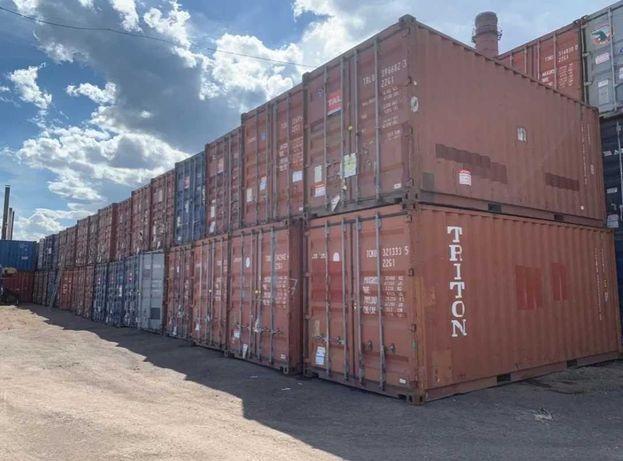 Продам морские контейнеры 10 фунтовый 20 фунтовый и 40 фунтовые