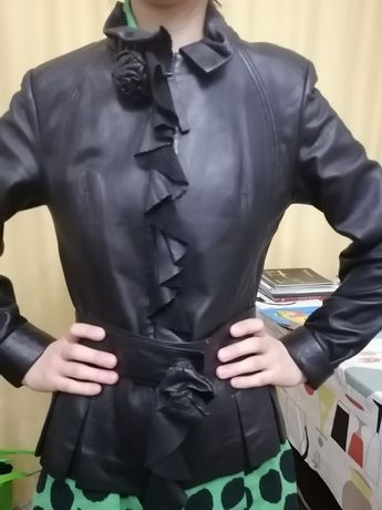 Кожаная куртка / пиджак /косуха