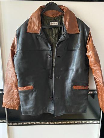 Мъжко яке естествена кожа 3XXL
