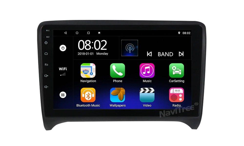 Navigatie Android Audi TT ,A6 si Q5 de 9 si 10 inch cu rame speciale Bucuresti - imagine 1