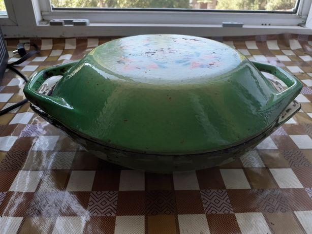 Сковородка чугунная