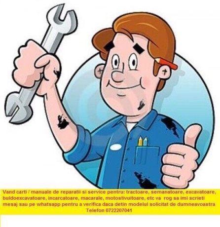 Manual reparatii Tracoare, autoturisme, utilaje agricole, utilaje indu