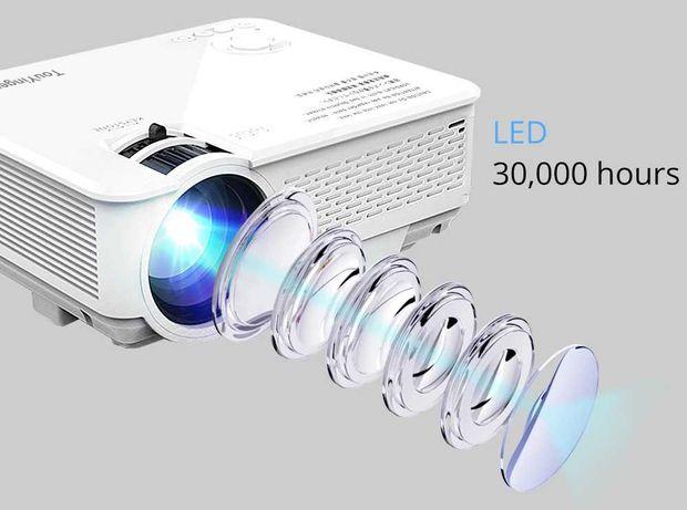Новый проектор Touyinger M4 2200 люмен, 30000 часов