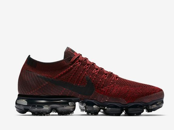 Nike Air VaporMax dark red
