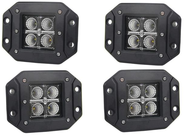 Set 4 X Proiector Led 12w Incastrabile