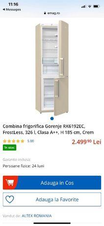 Combina frigorifica Gorenje