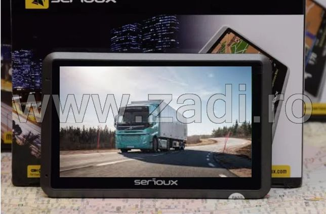 Gps portabil-taxi,auto,camion-program- harti full europa-modulator FM