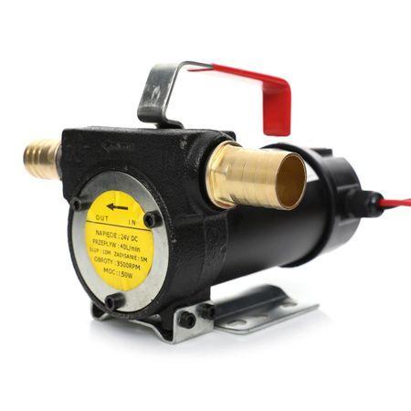 pompa transfer combustibil la 12 v 24 v si 220 v