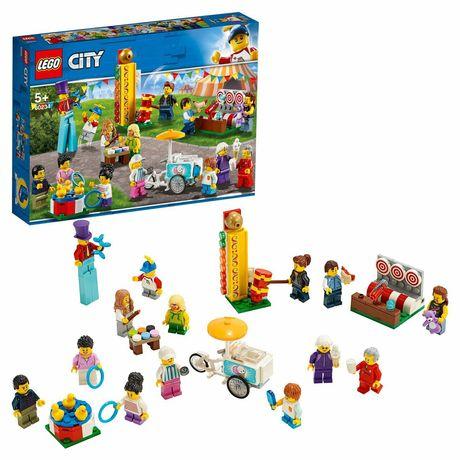 "Набор Лего сити ""В парке"". с минифигурками"