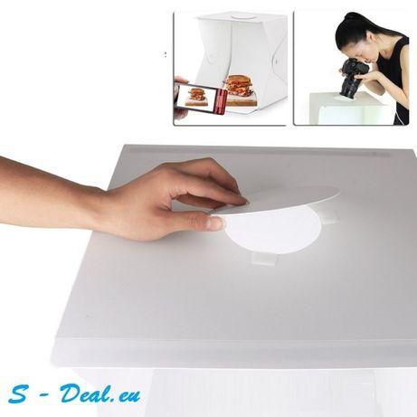Фотографска кутия 20 | 30 | 40 см за предметна фотография с LED