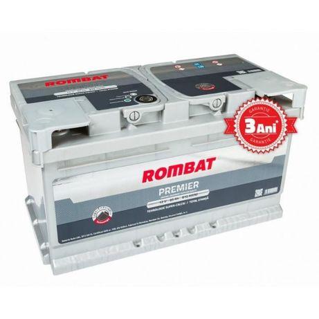 Baterie auto Rombat Premier 75 Ah - livrare gratuita in Bacau !!!