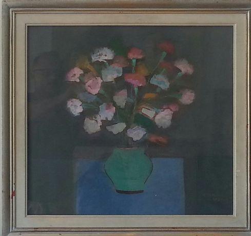 Tablou original Constantin Blendea-Natura moarta cu flori