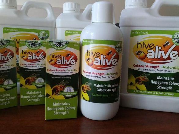хранителна добавка за пчели HiveAlive™