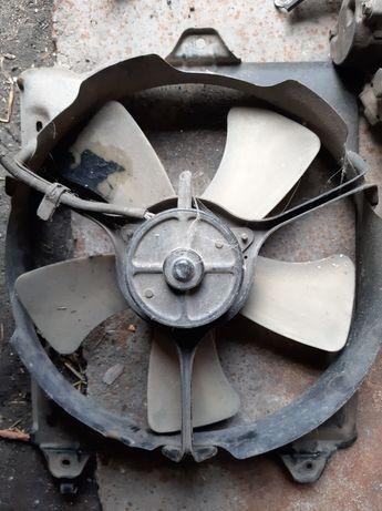 Вентилятор Тойота авенсис