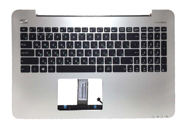 Продам клавиатуру с верхней панелью на ноутбук Asus MP-13K93SU-5283
