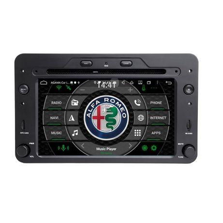 Navigatie Android 9.0 Alfa Romeo 159, Brera, Spider WAZE ISO GPS RADIO