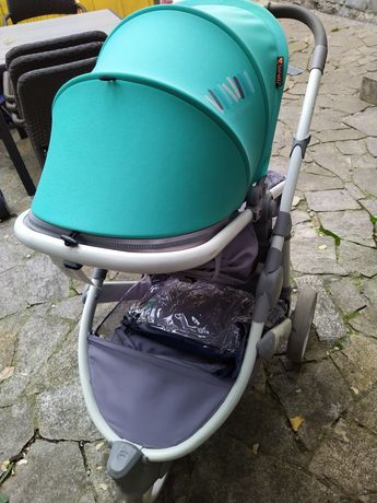 Bertoni Lorelli Бебешка количка 2в1 CALIBRA Grey&Green