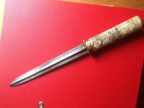 старинен японски нож