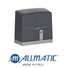 автоматизация мотор за плъзгаща дворна врата allmatic италия до 600кг.