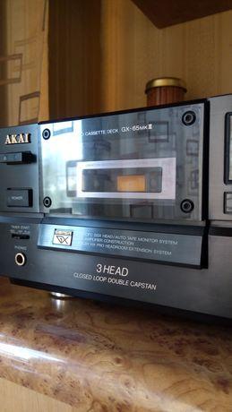 Продам кассетную деку (магнитофон) AKAI GX-65mk2 в хорошем состоянии.