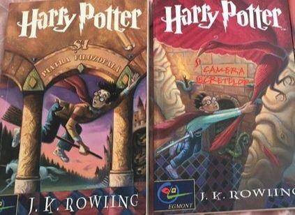 Harry Potter-Volumele 1-2 (Egmont)